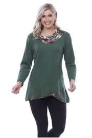 Parsley & Sage Cowl Knit Top - Product Mini Image