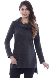 Parsley & Sage Cowl Knit Tunic - Front cropped