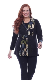Parsley & Sage Cut-Out Embroidered Jacket - Product Mini Image