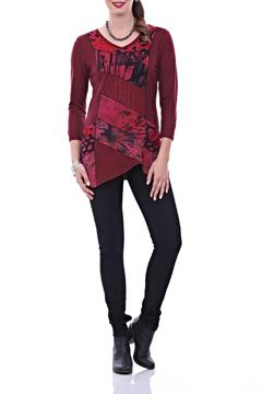 Shoptiques Product: Deep Red Tunic