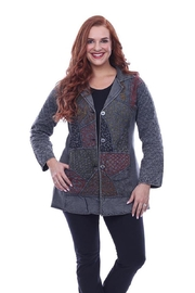 Parsley & Sage Embroidered Patchwork Jacket - Product Mini Image