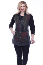Parsley & Sage Embroidered Reversible Vest - Product Mini Image