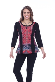 Parsley & Sage Ethnic Pocket Top - Product Mini Image