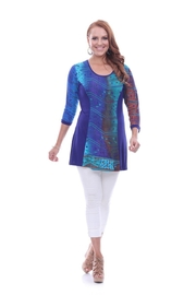Parsley & Sage Jewel Jersey Tunic - Product Mini Image