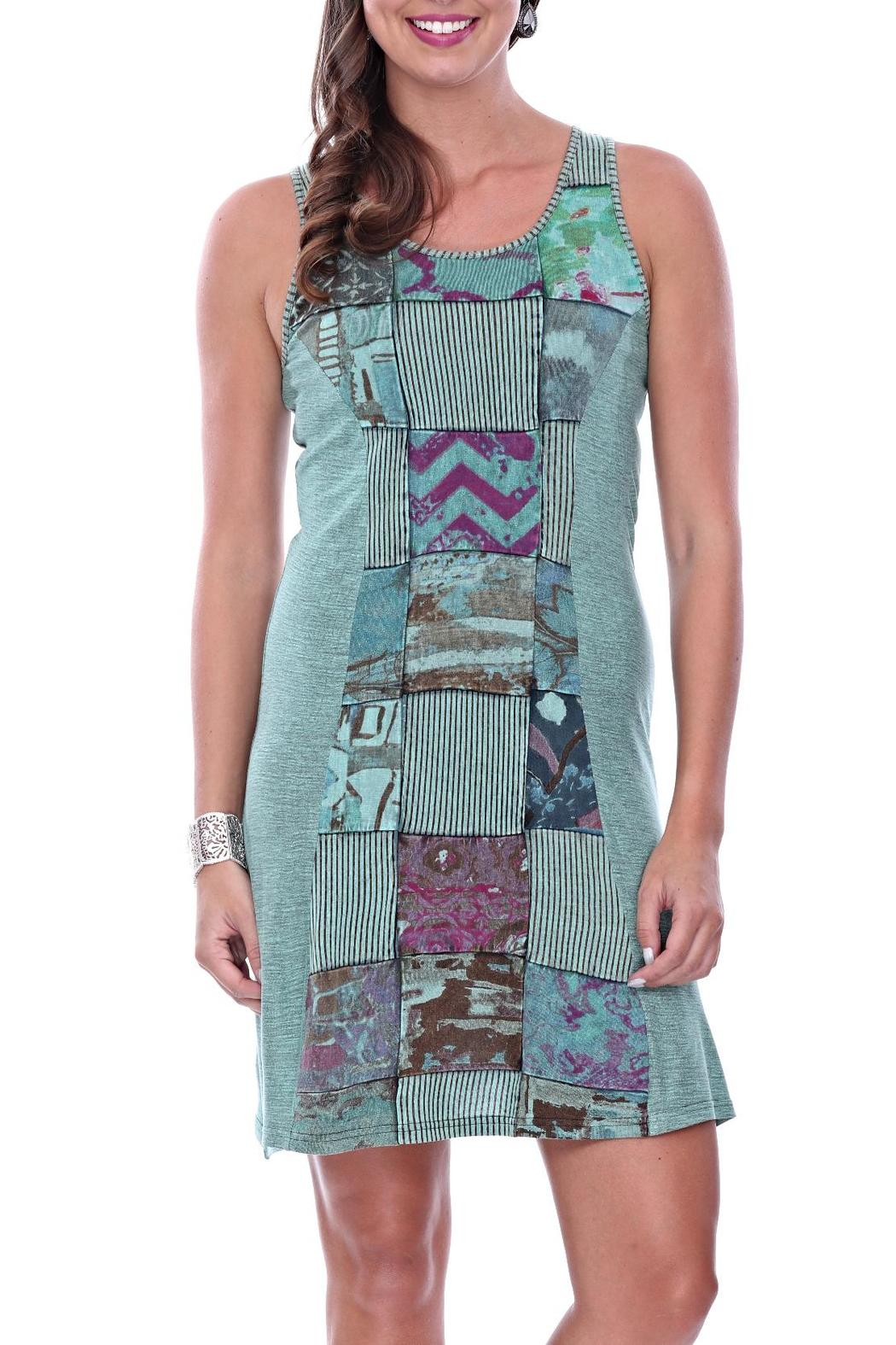 Parsley & Sage Jodie Patched Dress - Main Image