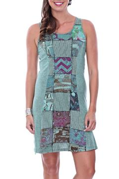 Parsley & Sage Jodie Patched Dress - Product List Image