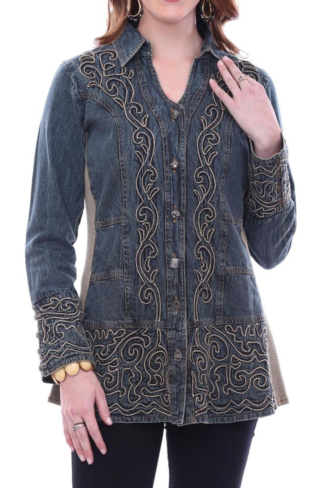 Parsley Amp Sage Mae Denim Shirt From California By Casual