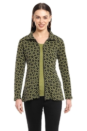 Parsley & Sage Moss Knit Jacket - Front cropped