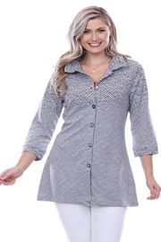 Parsley & Sage Ombre Button-Up Tunic - Product Mini Image