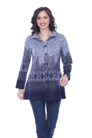 Parsley & Sage Ombre Knit Shirt - Product Mini Image