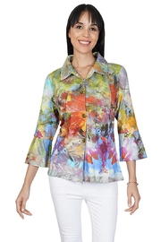 Parsley & Sage Pastel Empire Shirt - Front cropped