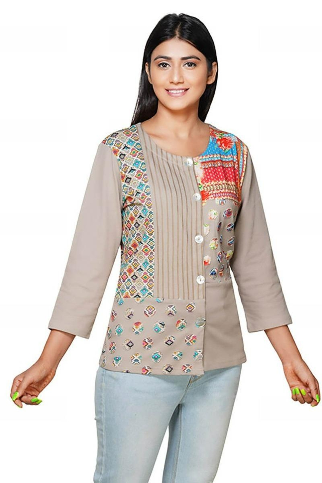 Parsley & Sage Patch Button Jacket - Main Image