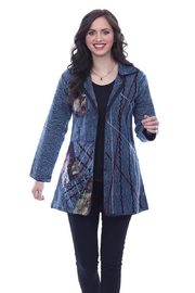 Parsley & Sage Patchwork Embroidered Jacket - Product Mini Image