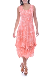 Parsley & Sage Peach Sleeveless Dress - Product Mini Image
