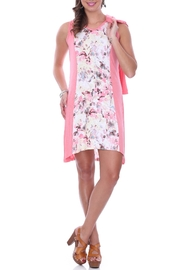 Parsley & Sage Pink Floral Dress - Product Mini Image