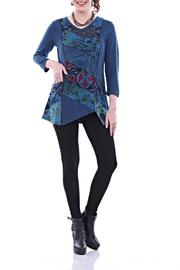 Parsley & Sage Positive Blues Tunic - Product Mini Image