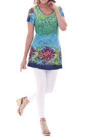 Parsley & Sage Short Sleeved Tunic - Front cropped