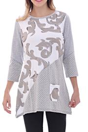 Parsley & Sage Spring Motif Tunic - Product Mini Image