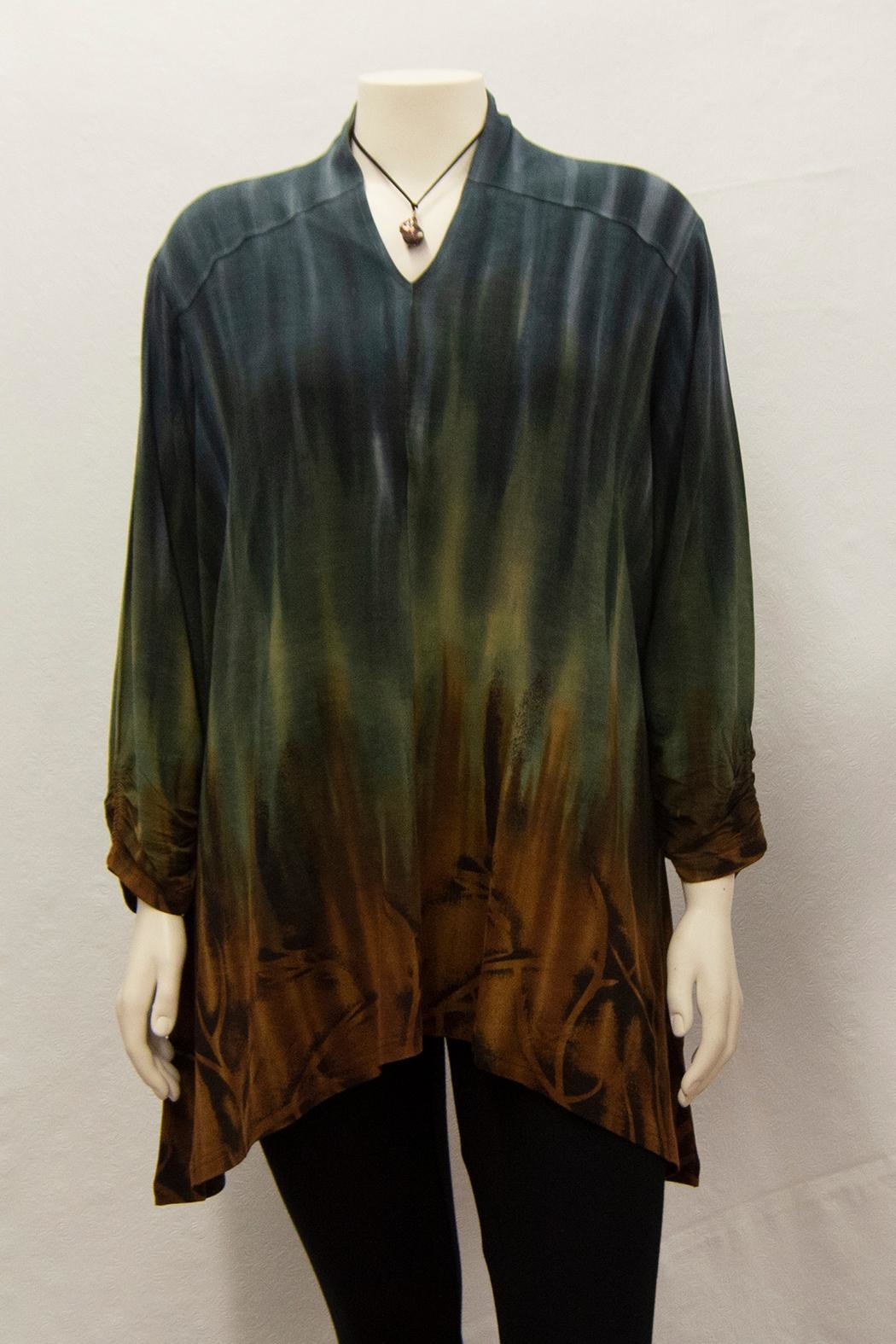 Parsley & Sage Tie-Dyed Grace Tunic - Main Image