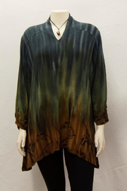Parsley & Sage Tie-Dyed Grace Tunic - Front cropped