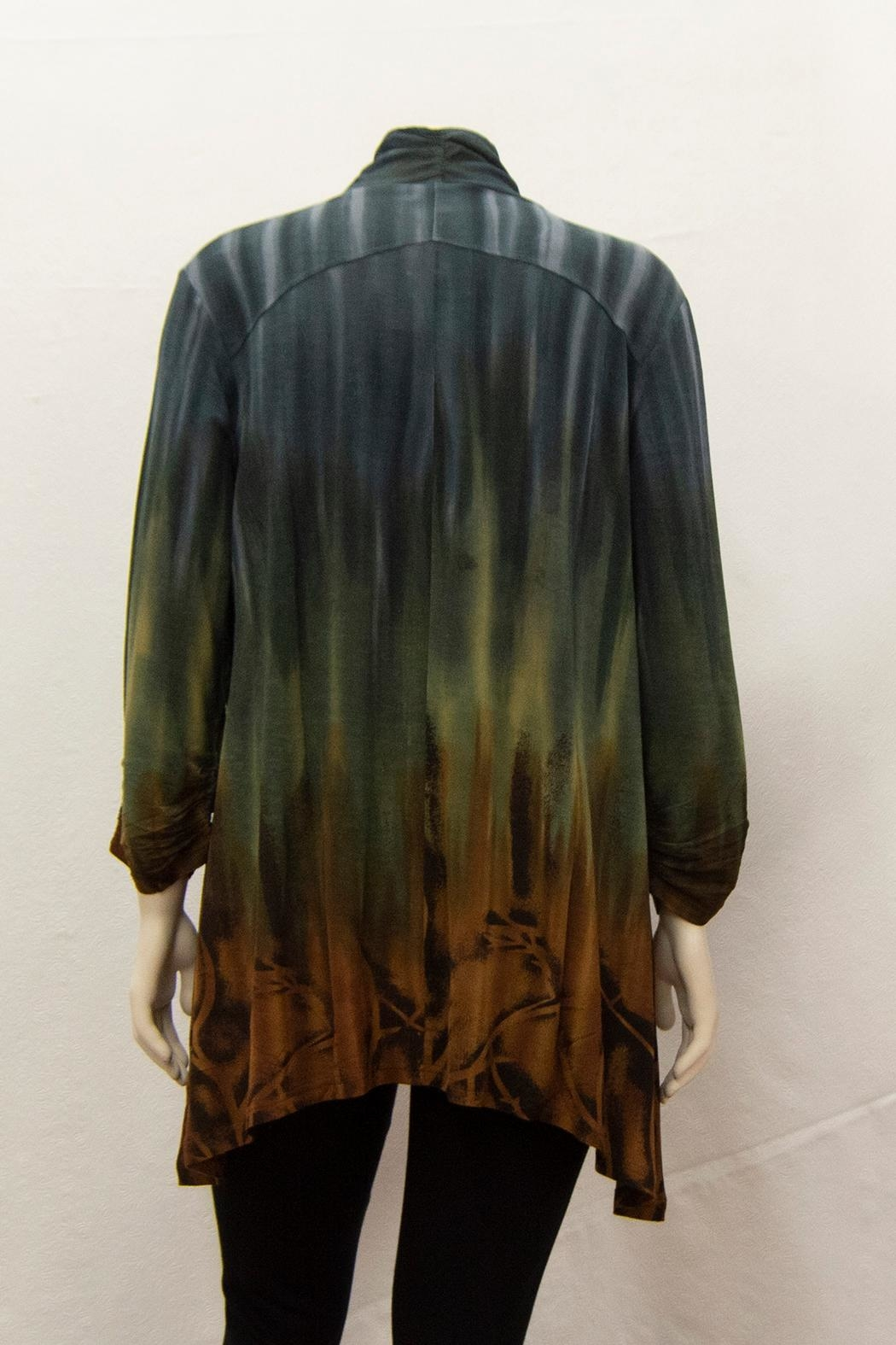 Parsley & Sage Tie-Dyed Grace Tunic - Side Cropped Image