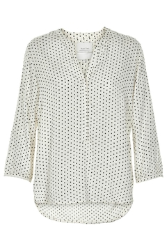 Part Two Dotted V-Neck Blouse - Product List Image