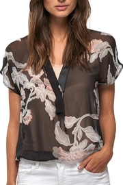 Part Two Floral Sheer Blouse - Product Mini Image