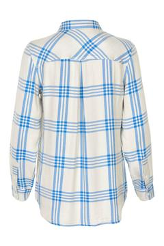 Part Two Plaid Long Sleeves Top - Alternate List Image