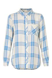 Part Two Plaid Long Sleeves Top - Product Mini Image