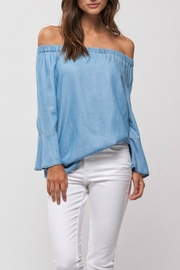 Part Two Ruffle Sleeve Blouse - Product Mini Image
