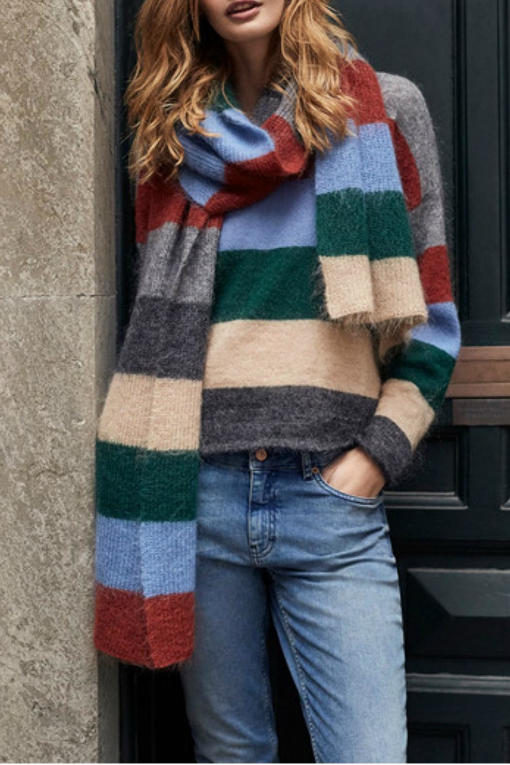Part Two Striped Wool Sweater - Main Image