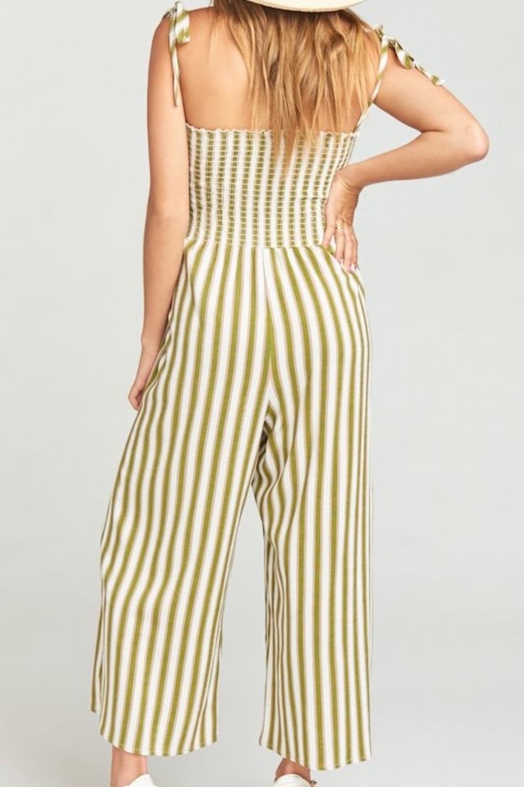 Show Me Your Mumu Parton Playsuit - Side Cropped Image