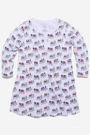 Roberta Roller Rabbit Party Animal Nightgown-Girls - Front cropped