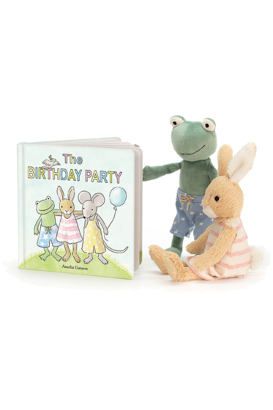 The Birds Nest PARTY BUNNY - Front Full Image