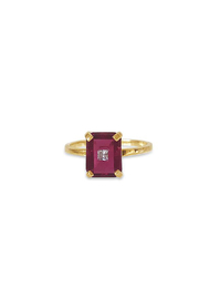 Erin Fader Jewelry Party Crasher Studded Ruby Ring - Product Mini Image