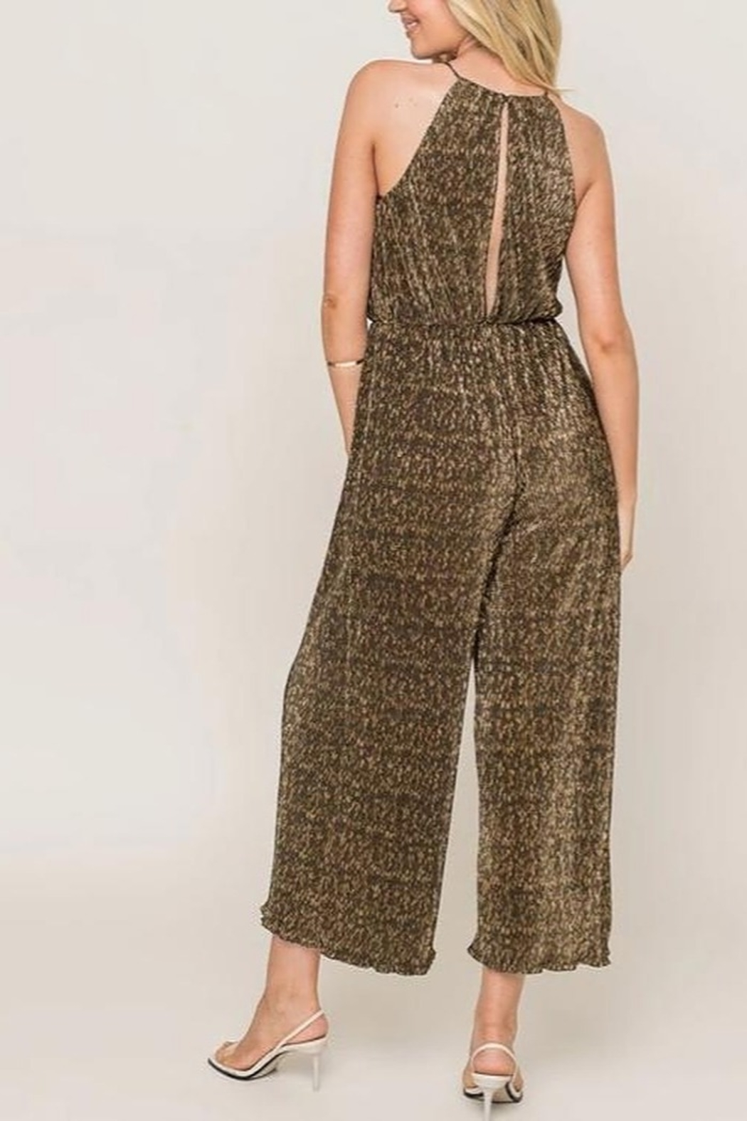Lush Party Girl Jumpsuit - Front Full Image
