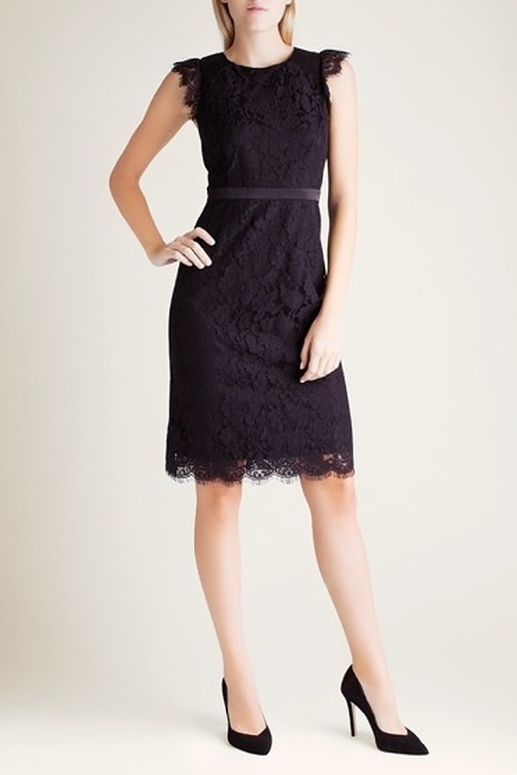 Kensie Party Lace Dress - Main Image