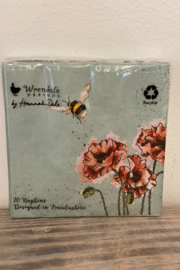 Wrendale Designs Party Napkins - Front cropped