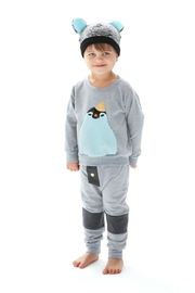 Bang Bang Copenhagen Party Penguin Sweater - Front full body