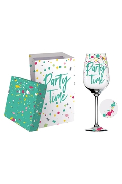 Shoptiques Product: Party-Time Wine Glass