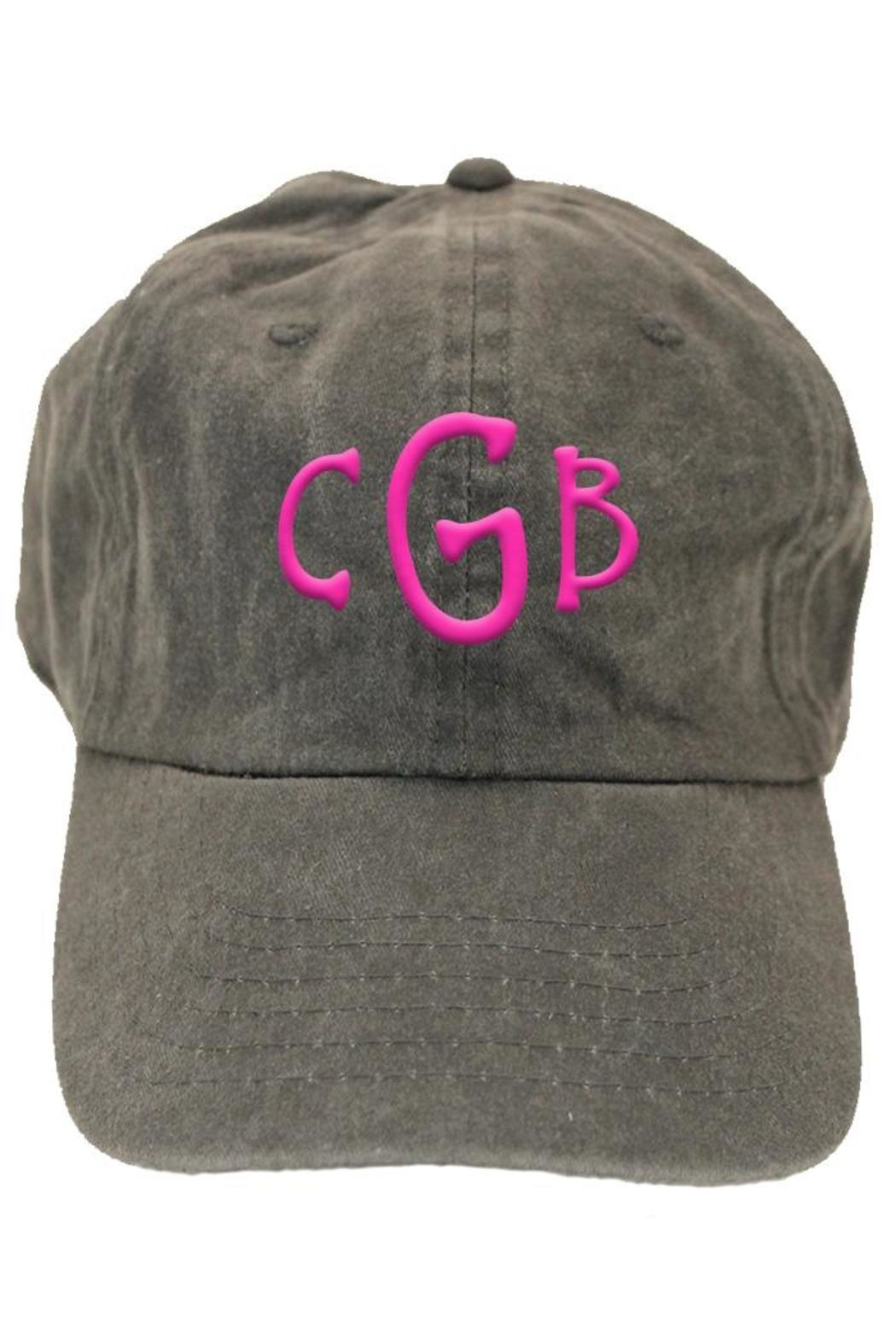 Party Cat Personalized Baseball Hat - Front Cropped Image