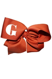 Party Cat Personalized Bow - Front cropped