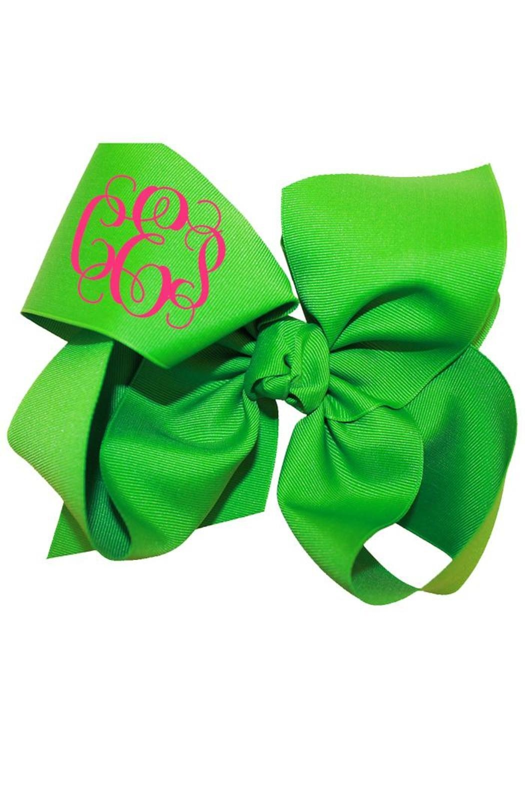 Party Cat Personalized Bow - Front Cropped Image