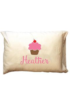 Party Cat Personalized Cupcake Travel Pillowcase - Product List Image