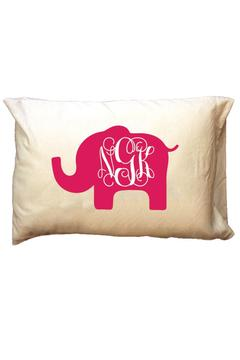 Shoptiques Product: Personalized Elephant Travel-Pillowcase