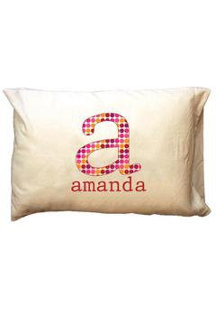 Shoptiques Product: Personalized Initial Travel-Pillowcase