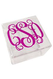 Party Cat Personalized Lucite Box - Product Mini Image