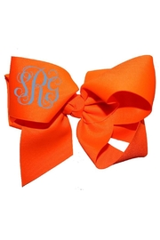 Party Cat Personalized Neon Bow - Front cropped