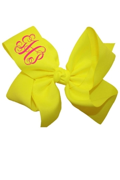 Shoptiques Product: Personalized Neon Bow