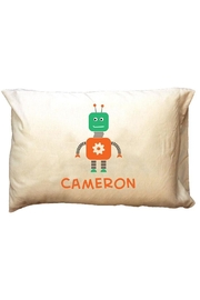 Party Cat Personalized Robot-Boy Pillowcase - Product Mini Image